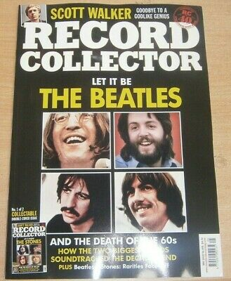 Record Collector magazine May 2019 The Beatles The Rolling Stones & Death of 60s
