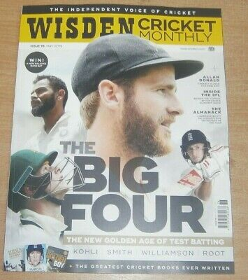 Wisden Cricket Monthly magazine May  2019 The Big 4 Kohli Smith Williamson Scott