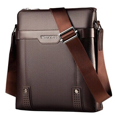 Leather Men Messenger Bags Casual Crossbody Bag Business Mens Handbag Bags