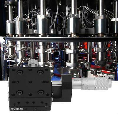 X Micrometer Manual Cross Rail Precision Linear Stage Bearing X Linear Stages