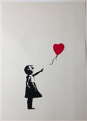 Banksy -  Girl With Red Balloon - Screen Print