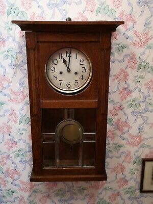 Chiming antique wall clock