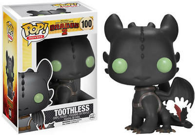 Funko POP Vinyl How To Train Your Dragon Toothless #100 VAULTED