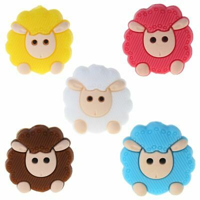 Baby Pacifier Teether Soothing Girls Boys Cute Sheep Colorful Comfort Supplies