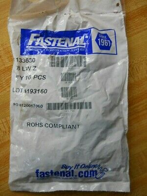 "Fastenal 1133630 5/8"" Lock Washer Pack Of 10 Pcs. New"