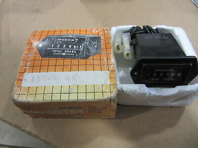Hobbs 2A642 Four Digit Hour Meter 15000 4-40VDC NEW!!! Free Shipping