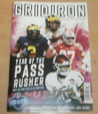 GridIron magazine Issue #46 XLVI 2019 Year of the Pass Rusher + Rashan Gary