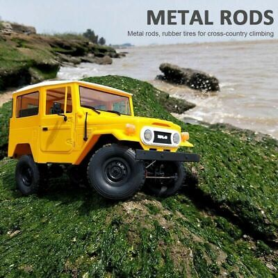 Original WPL C34 KIT Off-road Jeep Remote Control RC Car Toys DIY Metal Chassis