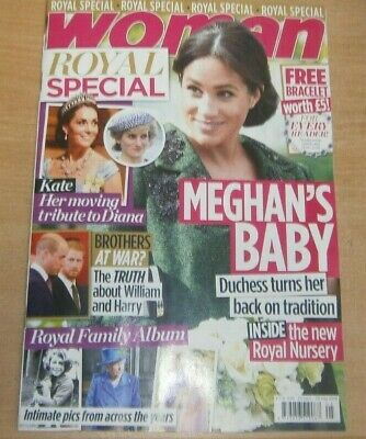 Women's Special Series magazine May 2019 Woman Royal Special. Meghan's Baby