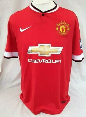 Manchester United Football Mata Strip Number 8 2014 2015 Size Small