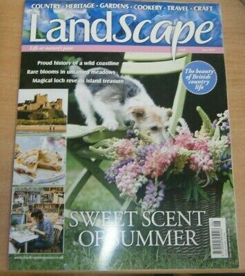 LandScape magazine Jun 2019 Proud history of a wild coastline. Rare blooms &more