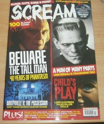 Scream magazine #54 May/Jun 2019 40 years of Phantasm Child's Play Amityville II