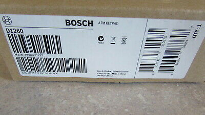 Bosch Security D1260 ATM Keypad Console New in Sealed Box - 60 Day Returns