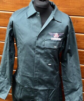 """Superb Top Quality 38"""" Chest Classic Bentley Racing Green Overalls Boilersuit"""