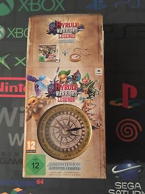 Hyrule warriors collector edition Nintendo 3ds nuova