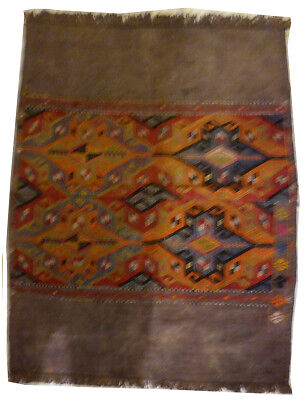 Kilim Turc Traditionnel Oriental hand made 122 cm x 95 cm  N° 152