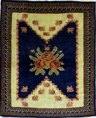 Tapis Persan Traditionnel Oriental hand made 150 cm x125 cm  N° 84