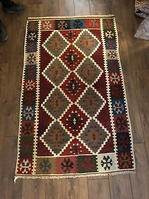 kilim Turc Traditionnel Oriental hand made 172 cm x108 cm  N° 120