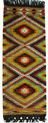 kilim Turc Traditionnel Oriental hand made fait main 106 cm x 70 cm  N° 191