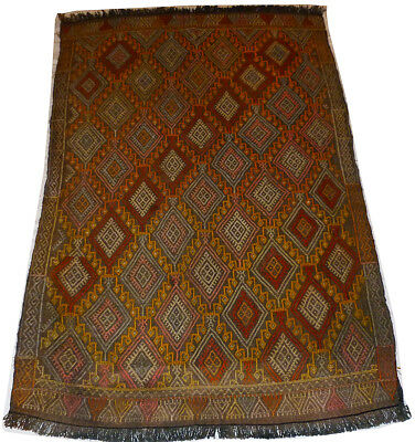 Kilim Turc Traditionnel Oriental hand made  147 cm x 87 cm  N° 160