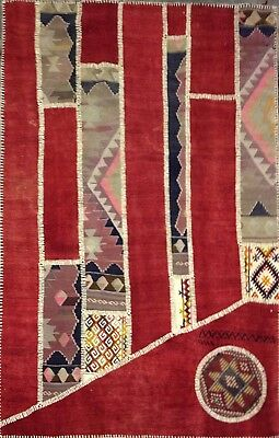 kilim Turc Traditionnel Oriental hand made 194 cm x127 cm  N° 110