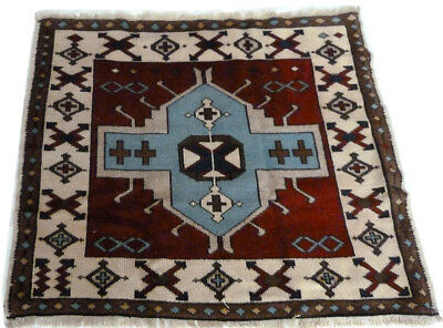 Tapis Turc Traditionnel Oriental hand made  144 cm x 128 cm  N°181