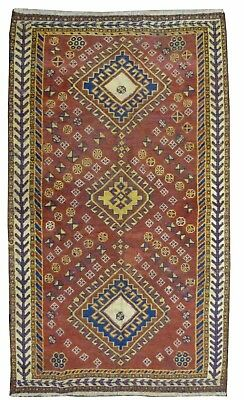 Tapis Persan Traditionnel Oriental hand made 170 cm x100 cm  N° 89