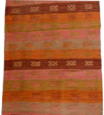 kilim Turc Traditionnel Oriental hand made  fait main 131 cm x 50 cm  N° 191