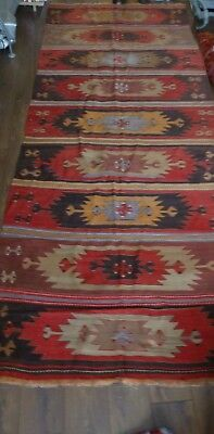 kilim Turc Traditionnel Oriental hand made  324 cm x 135 cm  N° 208