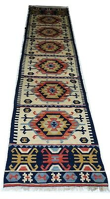 Antique KILIM Traditionnel Oriental hand made  136