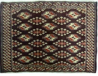 Tapis Persan Traditionnel Oriental hand made 81 cm x 59 cm  N° 68