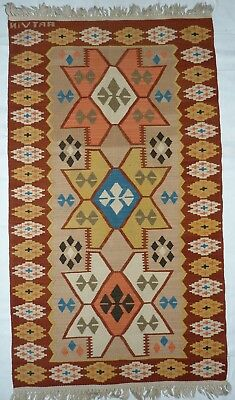 kilim Turc Traditionnel Oriental hand made 130 cm x80 cm  N° 125