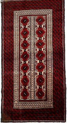 Tapis Persan Traditionnel Oriental hand made  200 cm x102 cm  N° 39