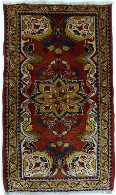 Tapis Persan Traditionnel Oriental hand made 128 cm x 74 cm  N° 49