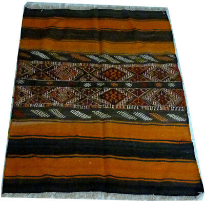 kilim Turc Traditionnel Oriental hand made  139 cm x 98 cm  N° 194
