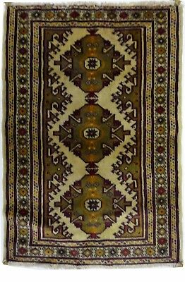 Tapis Persan Traditionnel Oriental hand made 98 cm x62cm  N° 45
