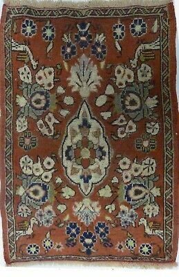 Tapis Persan Traditionnel Oriental hand made 82 cm x 55 cm  N° 48
