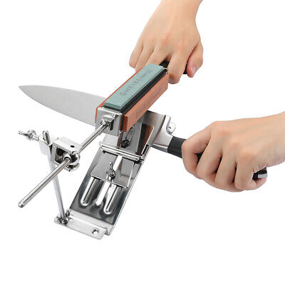 Pro Kitchen Sharpening Knife Sharpener System Tool Fix-angle With 4 Stones II