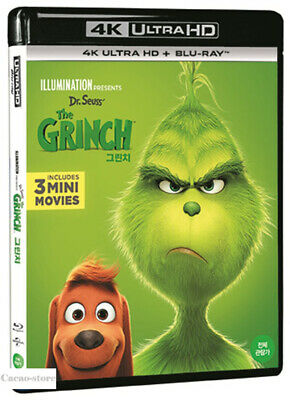 The Grinch ( 2Disc : 4K UHD + Blu-ray )