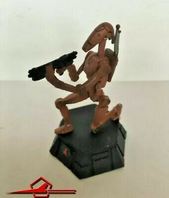 De AGOSTINI CHESS FIGURE DIECAST 1:24 DROID TROOP. BLACK PAWN