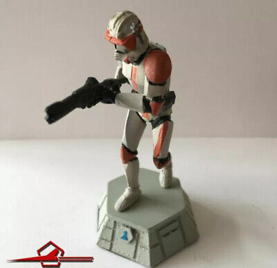 De AGOSTINI CHESS FIGURE DIECAST 1:24 COMMANDER CODY. WHITE PAWN