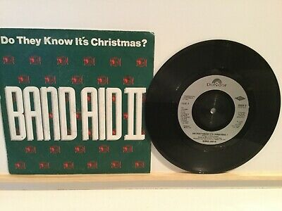 """Band Aid II – Do They Know It's Christmas?  - 7"""" Vinyl Single - 1989"""