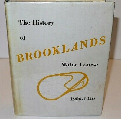 William Boddy The History of Brooklands First Edition 1957