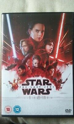 star Wars The Last Jedi dvd mint condition watched once. Uk region 2