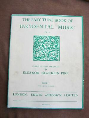 Incidental sheet music   Easy Tune book of 36 favourites