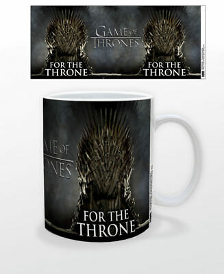 Game Of Thrones For The Throne 11 Oz Coffee Mug Tea Cup Hbo Tv Gift Iron New Fun
