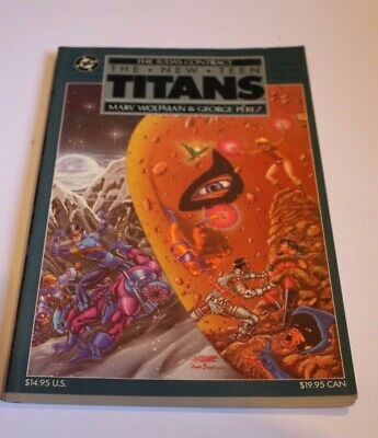 New Teen Titans The Judas Contract TPB (1988 DC) 1st Edition - 1st Printing