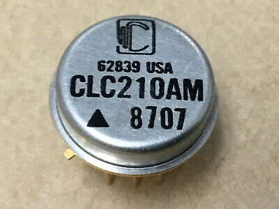 (1 PC)  COMLINEAR  CLC210AM   Fast Settling, Wideband High Voltage Op Amp  Gold