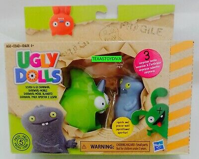 *UGLY DOLLS MOVIE* Squish & Go Sharwhal Figure & Mobile 3 Surprises Inside 2019
