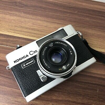 KONICA C35 Camera With Konica Hexanon 38mm f/2.8 Lens